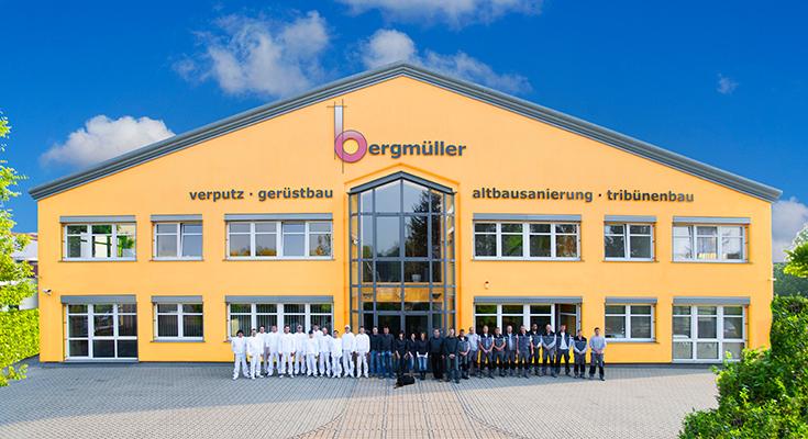Gerüstbau / WDVS / Verputz Bergmüller Neuburg a.d. Donau - Bayern